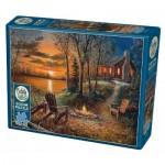 Puzzle  Cobble-Hill-85009 Pièces XXL - Fireside