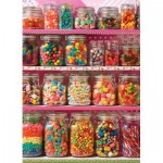 Puzzle  Cobble-Hill-85011 Pièces XXL - Candy Shelf