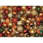 Puzzle  Cobble-Hill-85012 Pièces XXL - Christmas Balls
