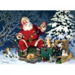 Puzzle  Cobble-Hill-85013 Pièces XXL - Santa's Little Helper
