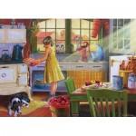Puzzle  Cobble-Hill-85016 Pièces XXL - Apple Pie Kitchen