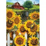 Puzzle  Cobble-Hill-85046 Pièces XXL - Country Paradise