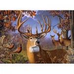 Puzzle  Cobble-Hill-85054 Pièces XXL - Deer and Pheasant