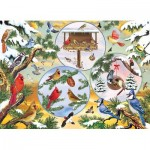 Puzzle  Cobble-Hill-85057 Pièces XXL - Winterbird Magic