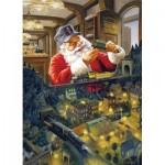 Puzzle  Cobble-Hill-85066 PIèces XXL - Santa's Railway