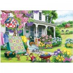 Puzzle  Cobble-Hill-85070 Pièces XXL - Spring Cleaning