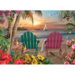 Puzzle  Cobble-Hill-85077 Pièces XXL - Island Paradise
