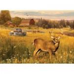 Puzzle  Cobble-Hill-85078 Pièces XXL - Deer Field