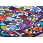 Puzzle  Cobble-Hill-85079 Pièces XXL - Portrait of a Quilt