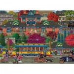 Puzzle  Cobble-Hill-85082 Pièces XXL - Trolley Station