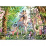 Puzzle  Cobble-Hill-85084 Pièces XXL - Unicorn in the Woods