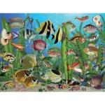 Puzzle  Cobble-Hill-88003 Pièces XXL - Aquarium