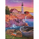 Puzzle  Cobble-Hill-88008 Pièces XXL - Lighthouse Cove