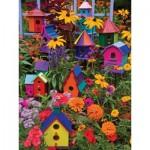 Puzzle  Cobble-Hill-88014 Pièces XXL - Birdhouses