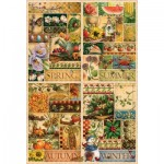 Puzzle  Cobble-Hill-89004 The Four Seasons