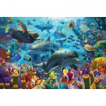 Puzzle  Cobble-Hill-89005 Coral Sea