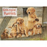 Puzzle   Pièces XXL - Golden Puppies