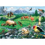 Puzzle Cadre - Rocky Mountain Wildlife