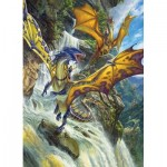 Puzzle   Waterfall Dragons