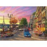 Puzzle  Perre-Anatolian-1004 Coucher de Soleil sur la Seine