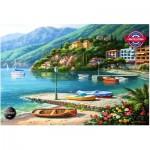 Puzzle  Perre-Anatolian-1096 Hillside Harbor Cove