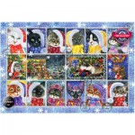 Puzzle  Perre-Anatolian-1103 Christmas Cats