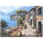 Puzzle  Perre-Anatolian-3085 Sung Kim : Le café sur la rive