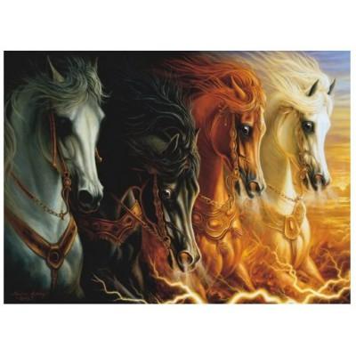 Puzzle Perre-Anatolian-3116 Les quatre chevaux de l'Apocalypse