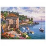 Puzzle  Perre-Anatolian-3117 Sung Kim : Le jardin sur le port