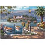 Puzzle  Perre-Anatolian-3129 Lago Del Porto