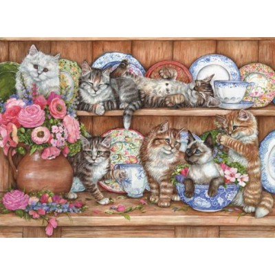 Puzzle Perre-Anatolian-3158 Les chatons
