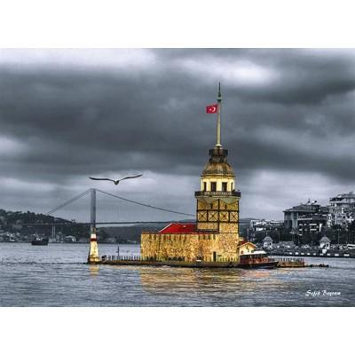 Puzzle Perre-Anatolian-3167 Turquie : La Tour de la Jeune Fille (Kizkulesi)