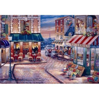 Puzzle Perre-Anatolian-3523 John O'Brien : Café du Rendez-vous
