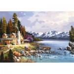 Puzzle  Perre-Anatolian-3534 Chalet de montagne