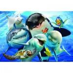 Puzzle  Perre-Anatolian-3585 Ocean Selfie