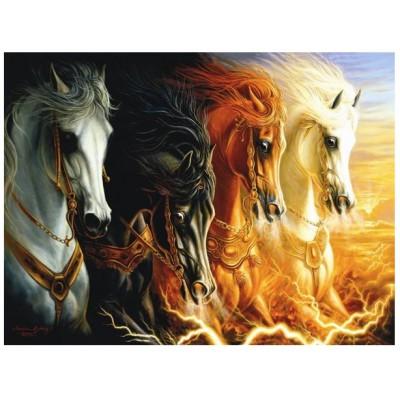 Puzzle Perre-Anatolian-3902 Les 4 Chevaux de l'Apocalypse