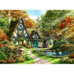Puzzle  Perre-Anatolian-3936 The Autumn Cottage
