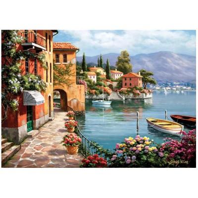 Puzzle Perre-Anatolian-4524 Villa sur le lac