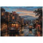 Puzzle  Perre-Anatolian-4531 Evgeny Lushpin : San Francisco, Cable Car Heavens