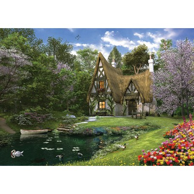 Puzzle Perre-Anatolian-4900 Spring Lake Cottage
