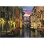 Puzzle  Perre-Anatolian-4904 Crépuscule à Venise