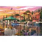 Puzzle  Perre-Anatolian-4905 Coucher de Soleil sur le Port