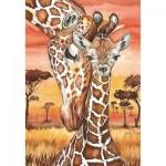 Puzzle   Girafes