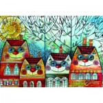 Puzzle   Oxana Zaika - City Cat