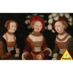 Puzzle  Piatnik-5342 Lucas Cranach : Les trois princesses de Saxe