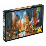 Puzzle  Piatnik-5381 Etats-Unis, New-York : Times Square