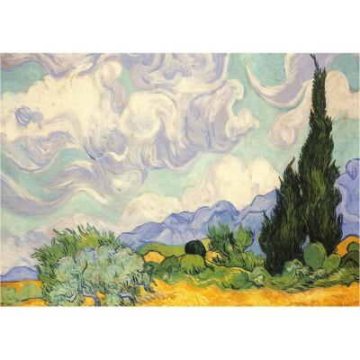 Puzzle Piatnik-5391 Van Gogh Vincent : Les Blés Jaunes