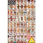 Puzzle  Piatnik-5437 Jeu de cartes