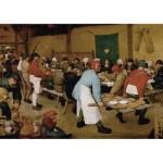 Puzzle  Piatnik-5483 Brueghel Pieter - Repas de Noces