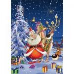 Puzzle  Piatnik-5495 François Ruyer - Happy Santa